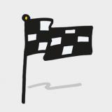 VisuFlip-Sprint Flagge Flipchartkurs zeichnen lernen